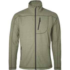 North Bend Aspect Fleecejacke Herren green lichen